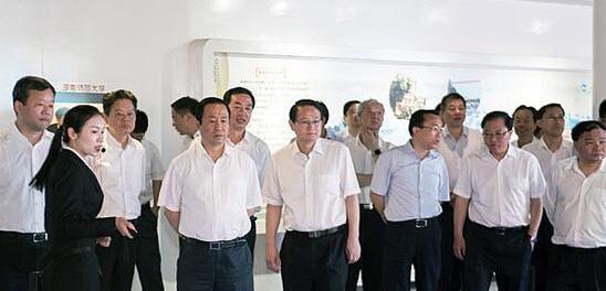 许达哲调研湘江新区