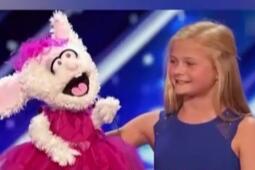 12岁女孩腹语唱歌  天籁之音惊艳全场