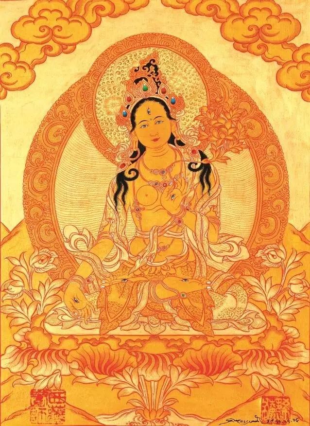 敦煌藏族绘画动物