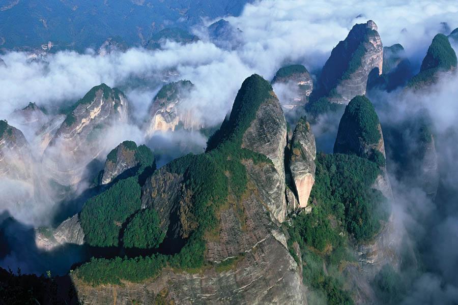 八角寨风景区图片