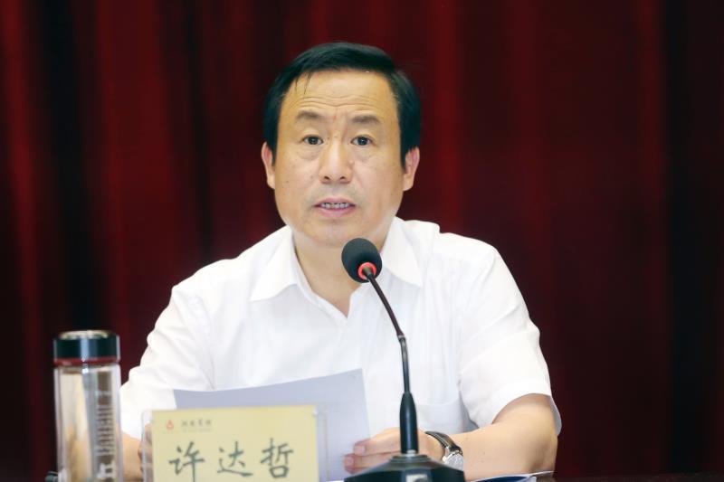 湘陇经济合作座谈会召开 许达哲出席