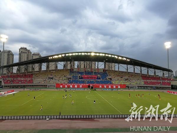 快讯 中马U22湘潭之战 中国队1 0获胜