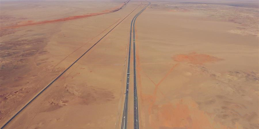 厉害了!中国将建成世界最长沙漠高速