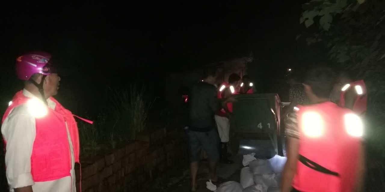 超历史水位,兴马洲今夜连夜执行全员撤离