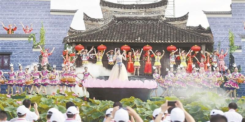 2017年郴州(夏季)美丽乡村旅游文化节开幕