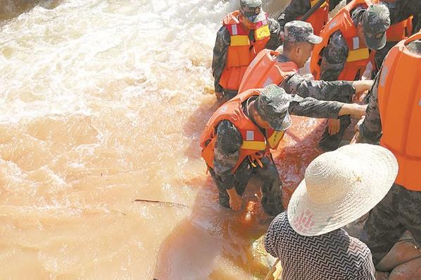 新一轮强降雨来袭 9至10日湘西、湘中以北局部暴雨