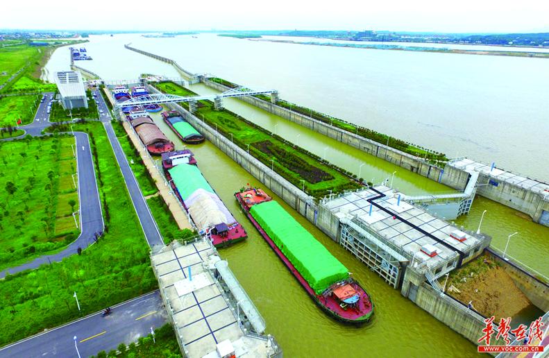 湘江长沙枢纽2号船闸恢复通航 1号船闸最快11日抢通