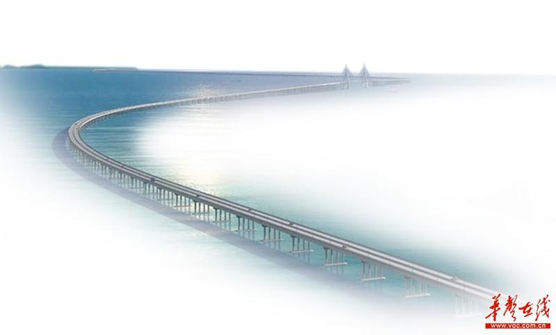 港珠澳大桥,湖南元素大放光彩