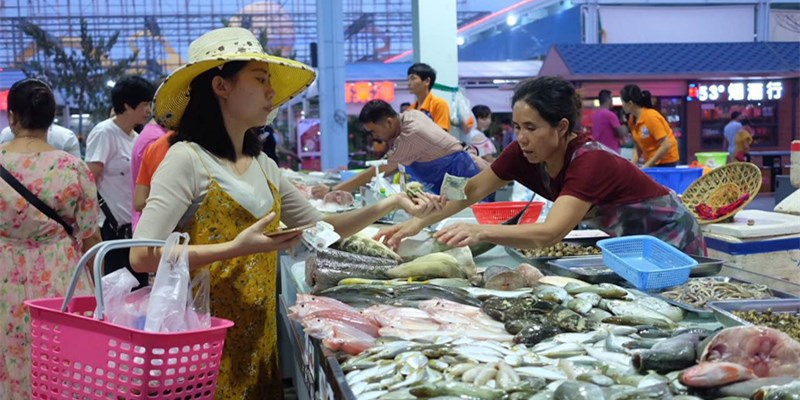 海口最大的海鲜市场