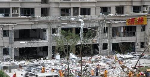 济南一小区突发爆炸 致8人受伤其中1人重伤