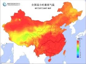 湖南省76县市出现高温热害 再熬一天预计明起有雨
