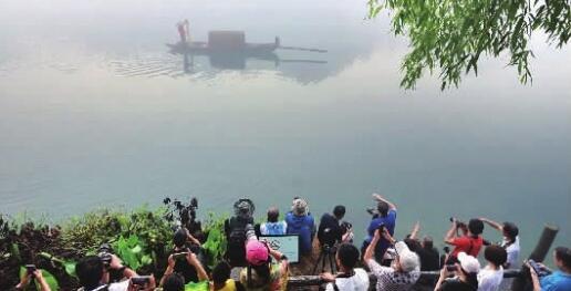 东江湖旅游区进入最佳观雾季节