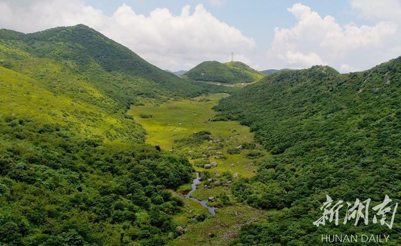 浏阳大围山景区湖南省唯一以第四纪冰川遗迹为主要特征的国家级地质