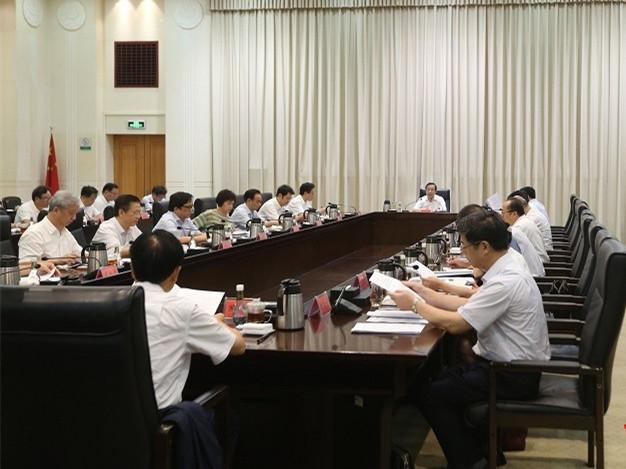 许达哲主持省生态环保委员会全体会议