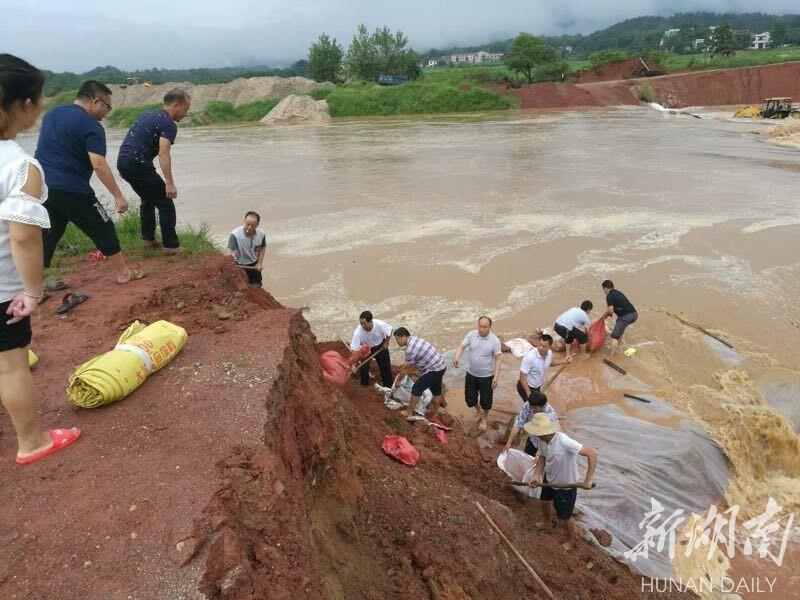 新一轮强降雨致湖南22.35万人遭灾 平江岳阳两县最严重