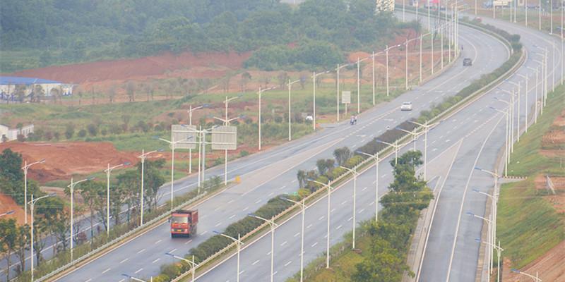 岳宁大道宁乡段正式通车 设计时速80公里