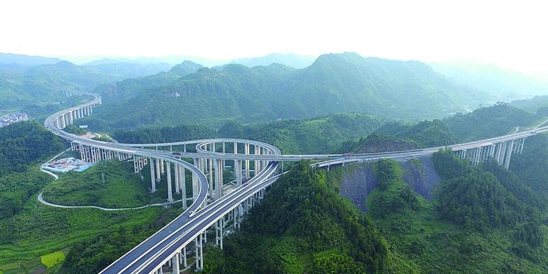 永吉高速公路石家寨互通 预计今年9月15日竣工通车