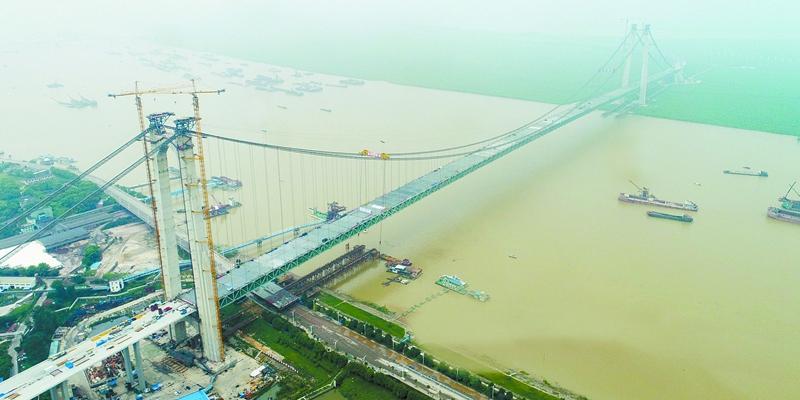 杭瑞高速洞庭湖大桥合龙 预计2018年春节前建成通车