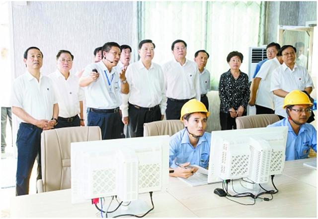 张德江在湖南检查固体废物污染环境防治法实施情况 8月17日 郴州 新湖南