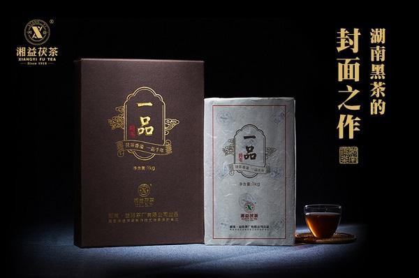 """2017湖南茶叶""""十大安全放心品牌""""之湘益茯茶:盛开在丝绸之路上的金花"""
