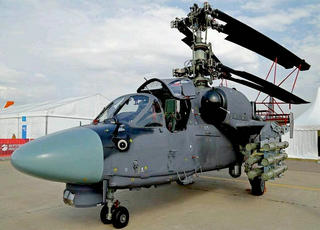 解密 俄卡52K武装直升机旋翼如此折叠