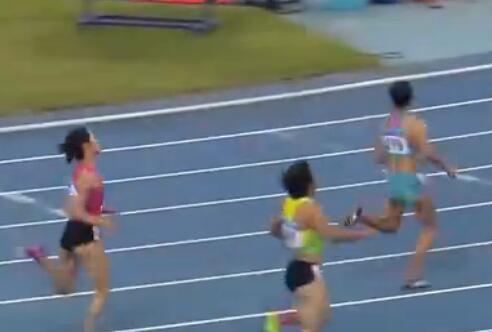 湖南选手黄瑰芬晋级全运会女子200米决赛