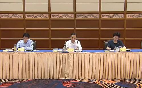 许达哲主持召开省扶贫开发领导小组会议