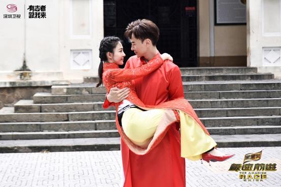 郑元畅王丽坤越南拍婚纱照!才子佳人配一脸