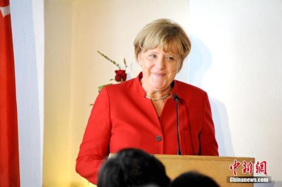资料图:德国总理默克尔 彭大伟 摄