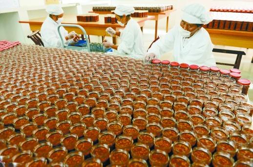 剁辣椒产业促增收