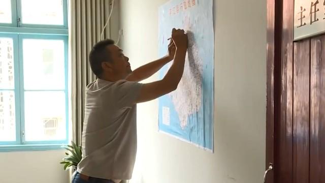 叶剑芝:扶贫地图揣在怀
