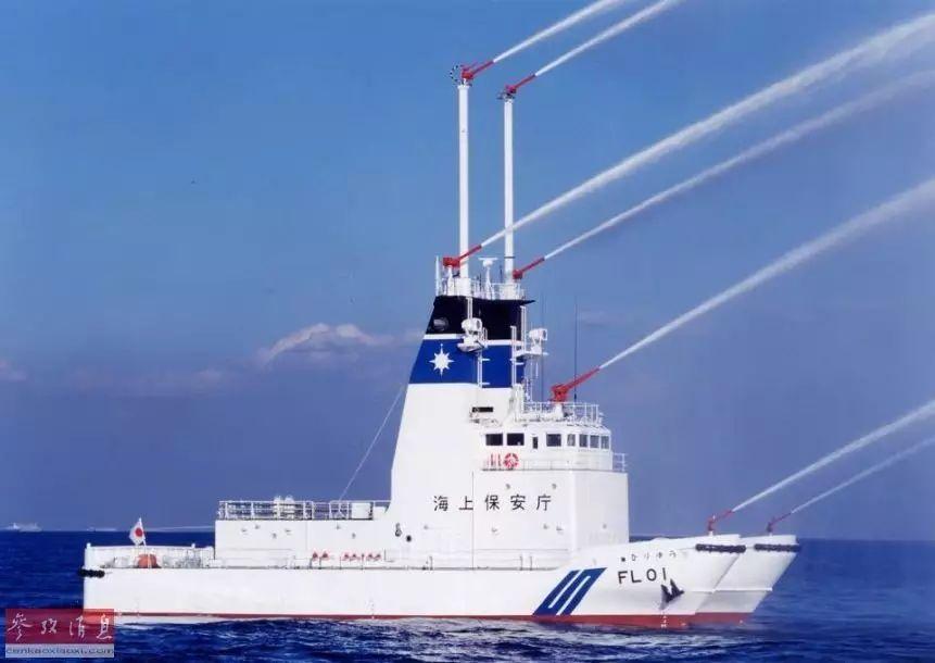 ▲日本海上保安厅的巡视船