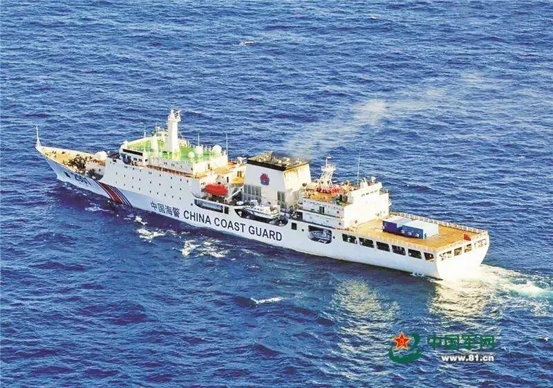 ▲中国海警船2901的诞生,标志着中国海上执法力量的提升。