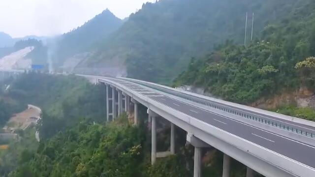 古丈:湖南最美高速通车