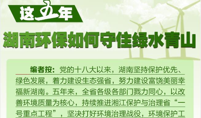 这五年,湖南环保如何守住绿水青山