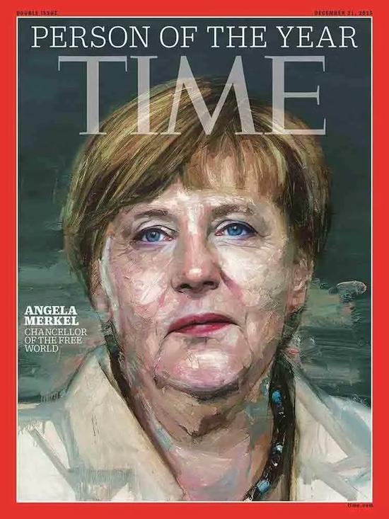 默克尔当选2015年《时代》周刊年度人物。