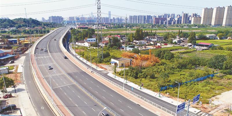 长沙开福大道全线通车 全长16.29公里