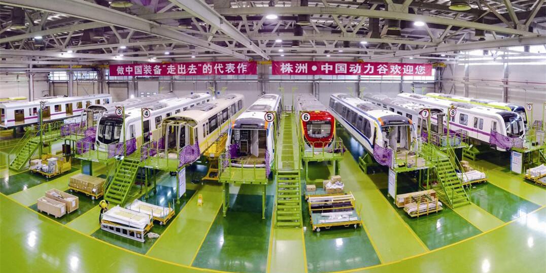 [砥砺奋进的五年・成就展]中车株洲电力产业改造升级步伐加快