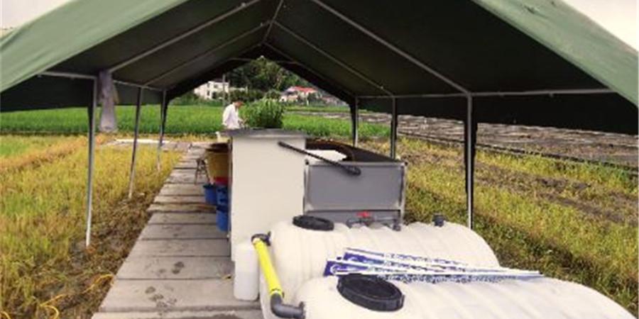 [砥砺奋进的五年・成就展]长沙县试验农田土壤生态水利修复系统