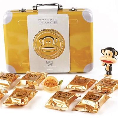 大嘴猴月饼行李箱