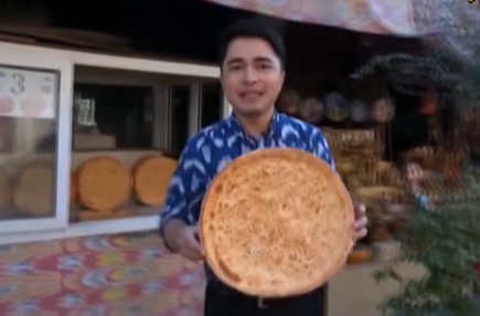 新疆传统美食――馕