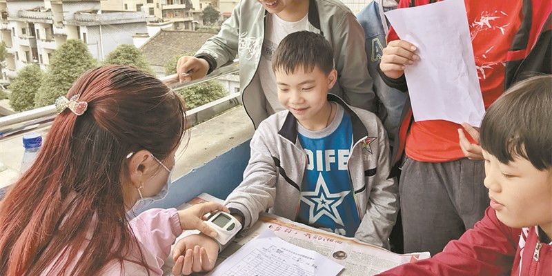 乡村学生免费体检