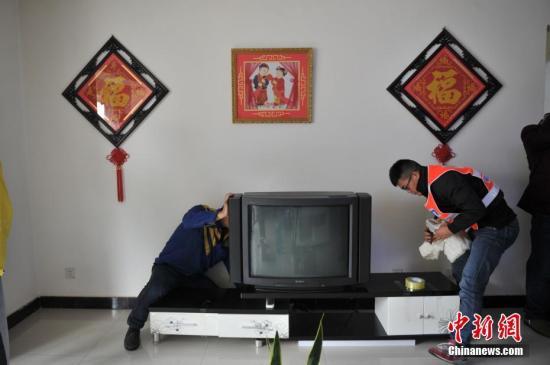 搬家。(资料图)<a target='_blank' href='http://www.chinanews.com/'>中新社</a>记者 任东 摄