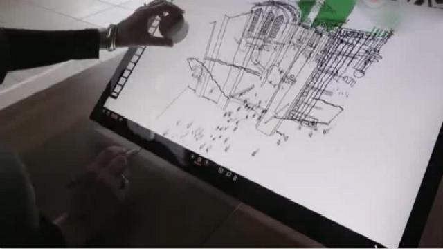 微软的3D草图绘画工具,黑科技改变未来