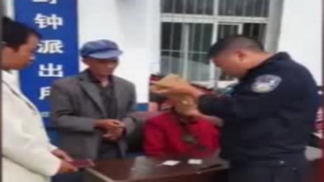 流浪汉遇事故受伤 民警帮其找到阔别8年的亲人