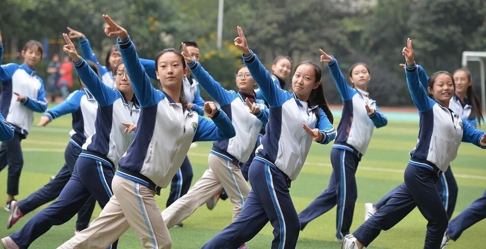成都:首套川剧广播体操受热捧