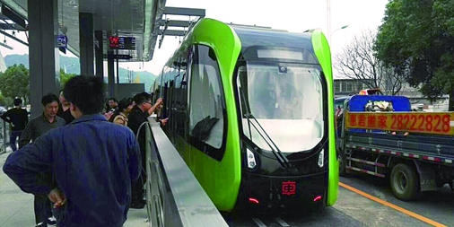 [一周湖南]全球首条虚拟轨道列车示范线运行 梅溪湖二期将打造长沙副中心