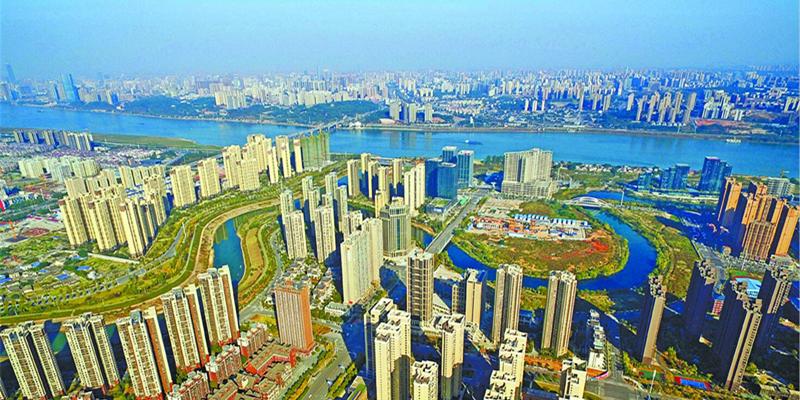 湘江新区洋湖总部经济区彰显蓬勃活力