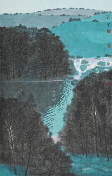 刘云中国画作品展:青绿山水呈现时代文化精神图片