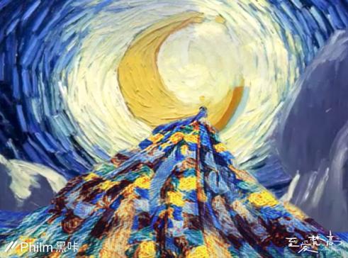 《至爱梵高》黑科技让你生活在梵高的油画里